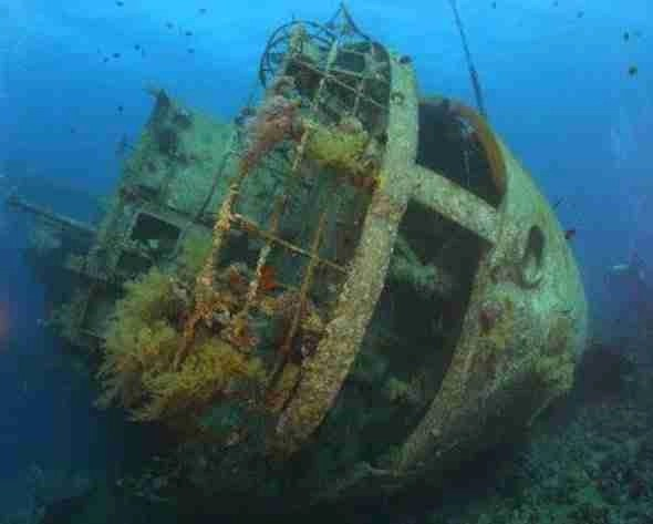 Wreck Diving on Coron Island