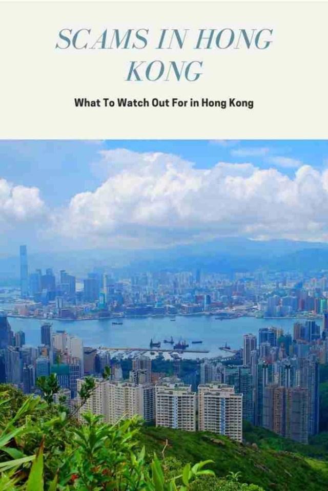 scams in Hong Kong pinterest