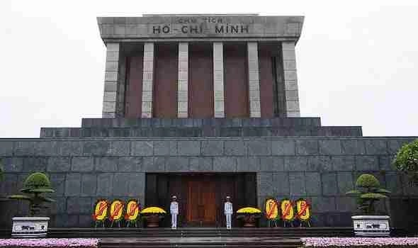 Ho Chi Minh Monument Halong Bay Vietnam