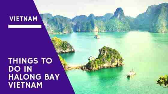 Things To Do in Halong Bay Vietnam Other Than Cruises