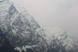 We reached Fishtail Base Camp and we met with stunning views of mountains all around.