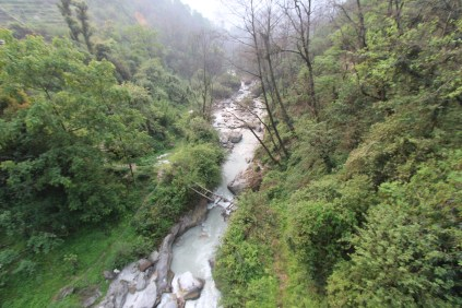 We followed our trusty river down the valleys. By this point, I think we were all ready for some relaxation in Pokhara. But first we craved the hot springs to soothe our aching muscles.