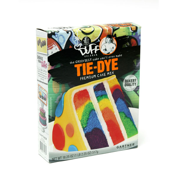 Duff Tie Dye Cake Mix