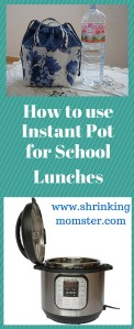 how to use instant pot for school lunches