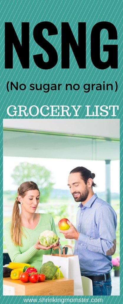 NSNG grocery list