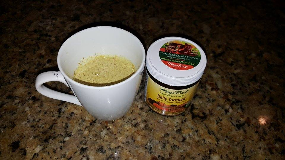 Milk with turmeric and honey