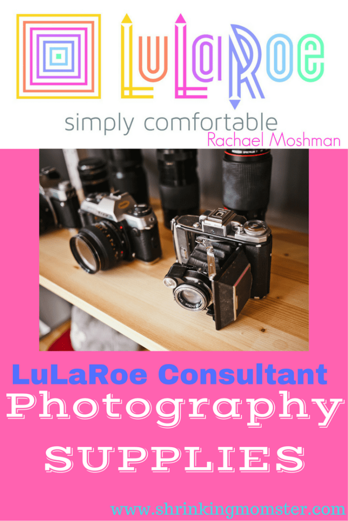 LuLaRoe consultant photography supplies