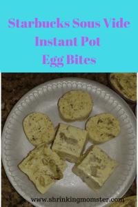 Instant Pot Starbucks Sour Vide Egg Bites