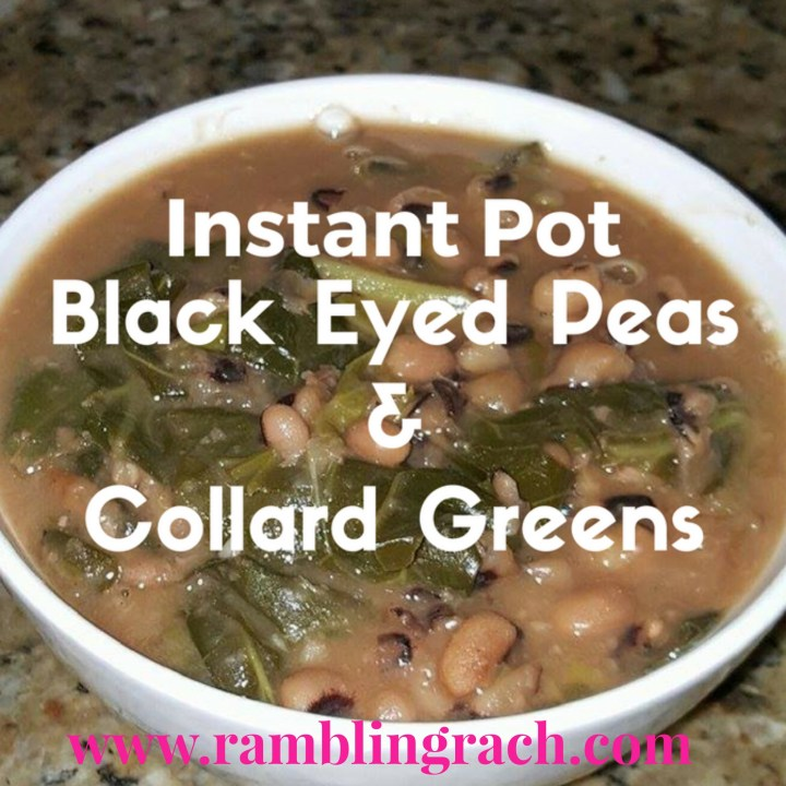Instant Pot Collard Greens and Black Eyed Peas