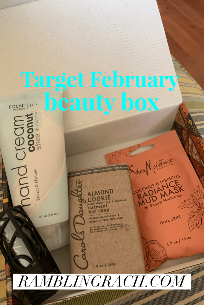 Target February beauty box