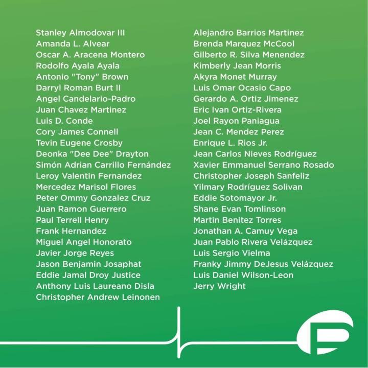 49 people murdered at Pulse Nightclub