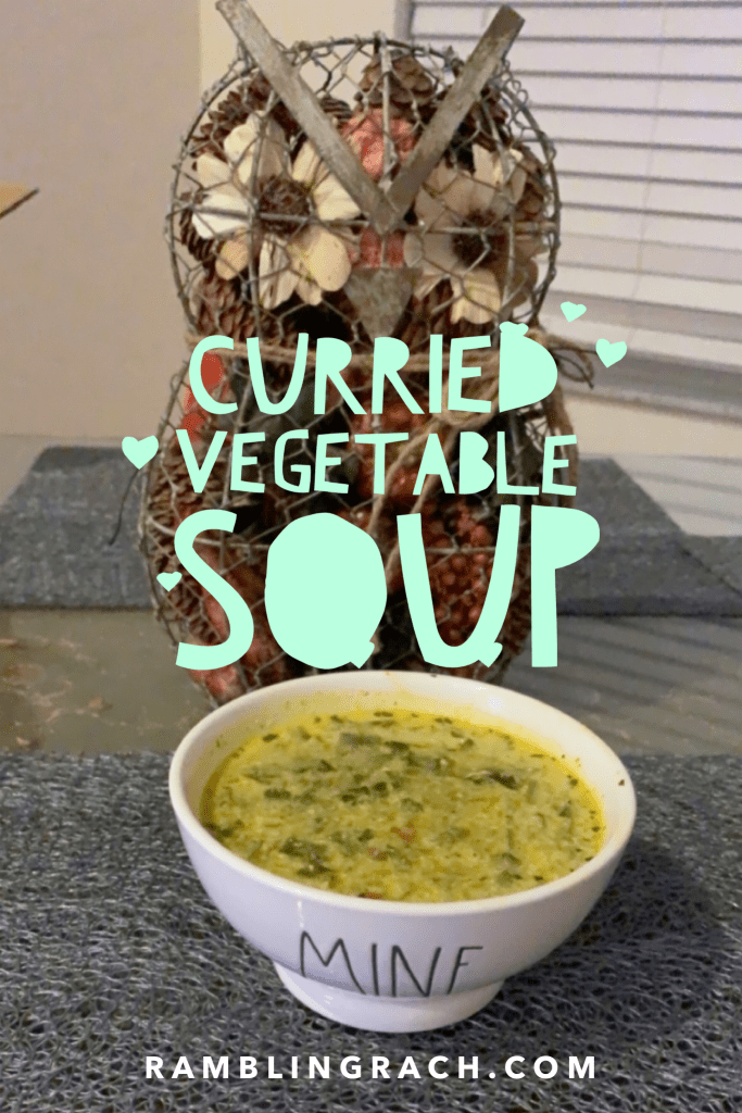 Instant Pot Curry Vegetable Soup