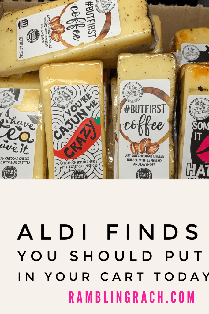 Aldi has the best specialty cheeses