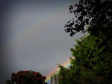 Photo of double rainbow