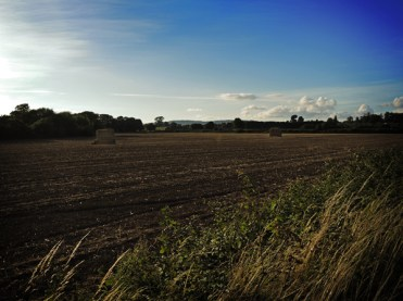 Photo of ploughed field