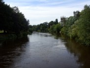 Photo of Hereford Cathedral by river