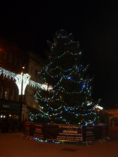 Photo of Christmas tree in Hereford