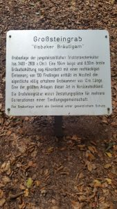 "Marker for ""the Bridegroom"". Its much much smaller than""the Bride""."