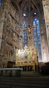 Main sanctuary of the Basilica