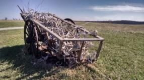 A cart of bones?????
