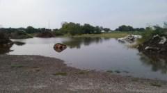 the compost lake