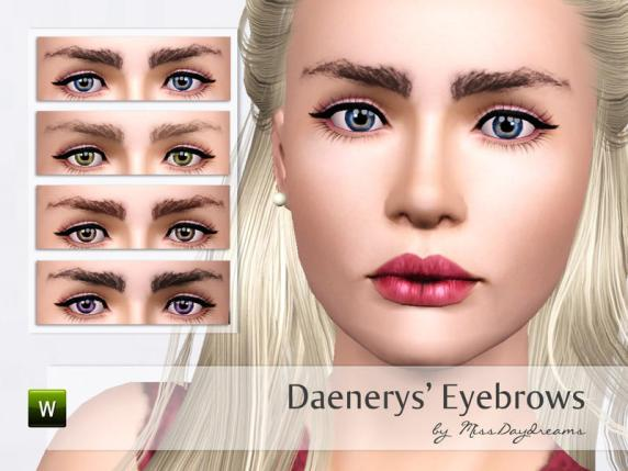 The Targaryens are known for madness, dragons and brown eyebrows.