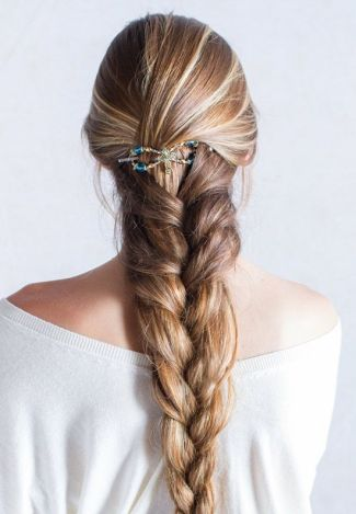 Braid with flexi clip