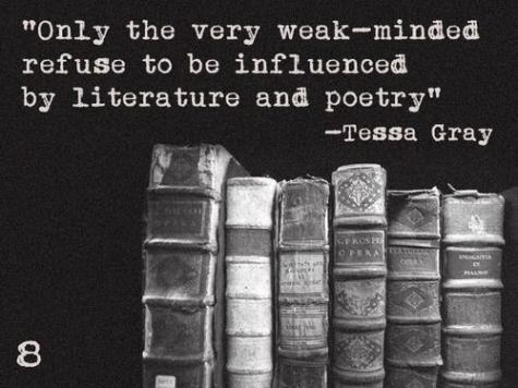 Tessa about books