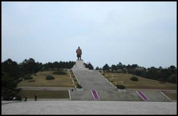 Kim Il-sung on Mount Janam