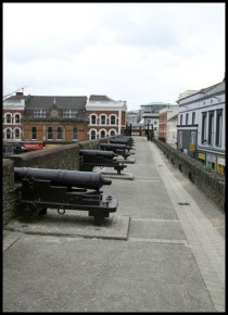 Derry's Walls - Restored Cannons