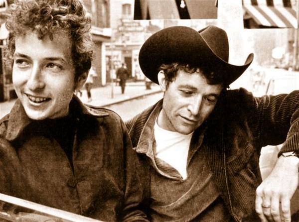 Jack & Bob Dylan, Greenwich Village, early 60