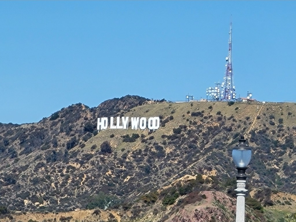 Famous Hollywood Sign, Los Angeles California