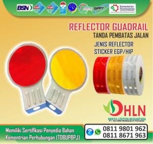 reflector guard rail