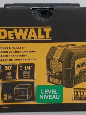 DeWalt 50′ Cross Line Laser