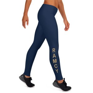 Navy marathon leggings