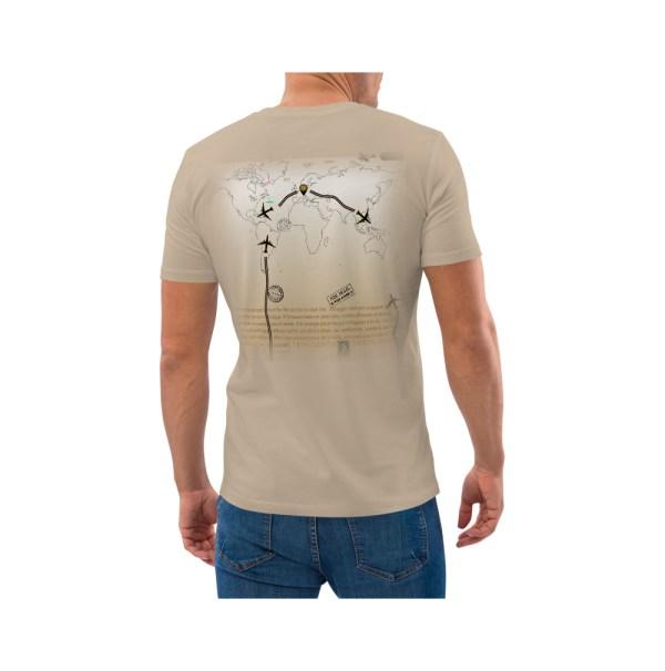 Wanderlust T-shirt cotone biologico uomo