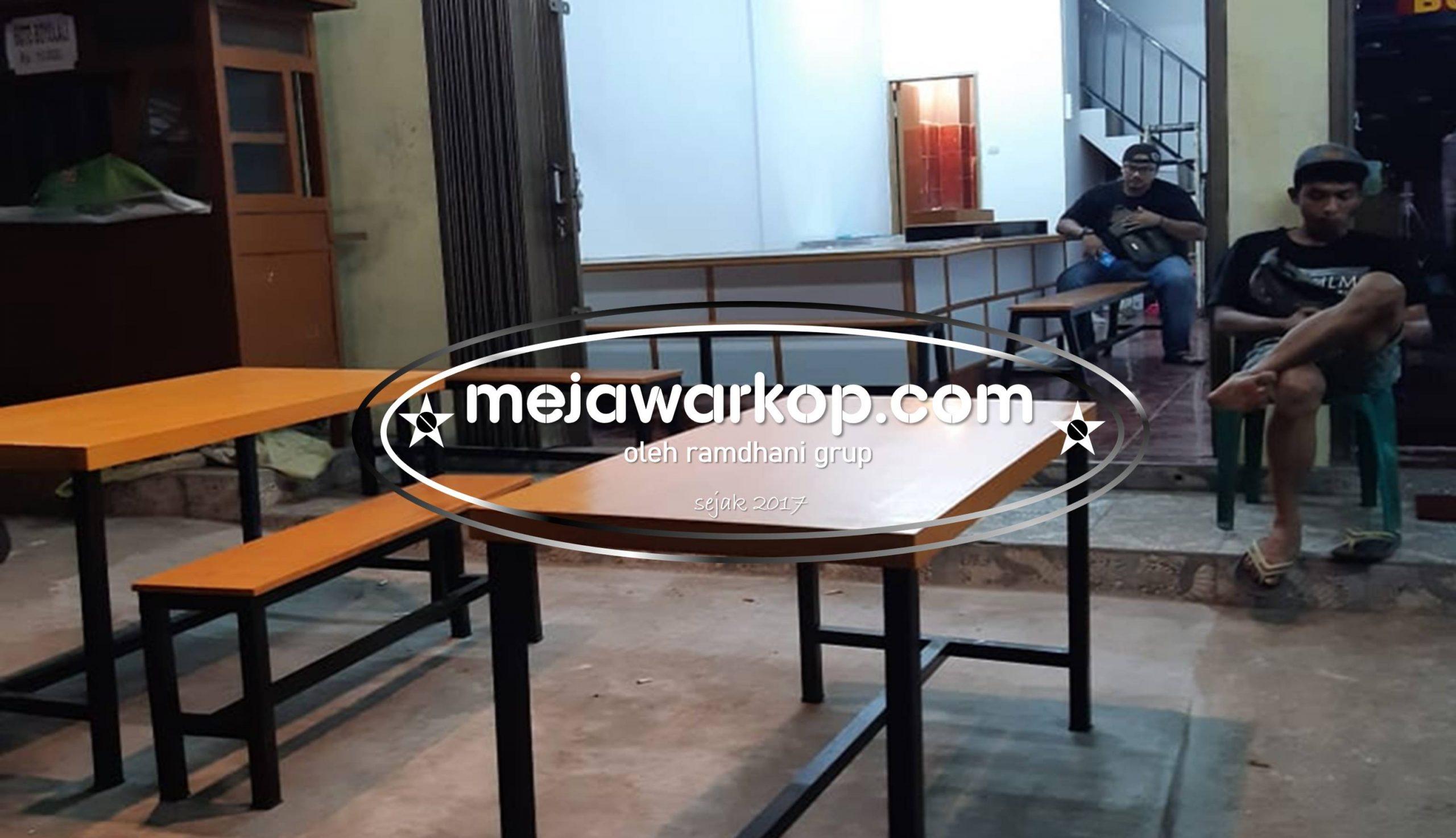 Meja Warkop Ramdhani Furniture Paket Mewah
