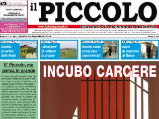 Galleria fotografica delle prime pagine del Piccolo Giornale di Cremona