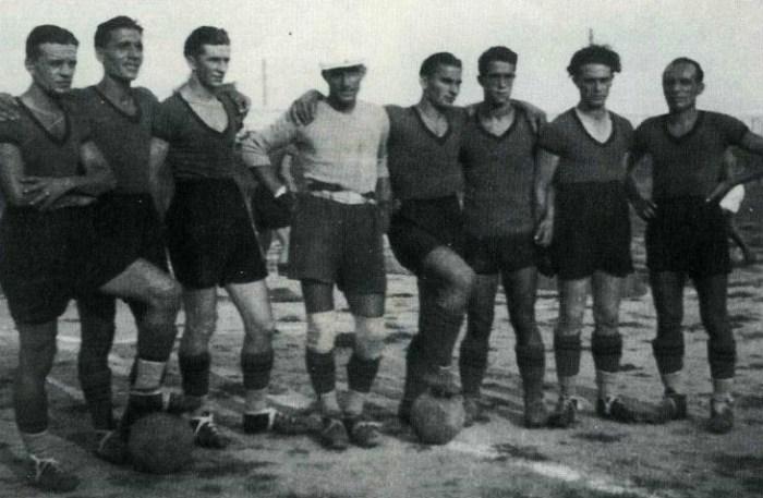 Primi calci in grigiorosso (1913-1923)