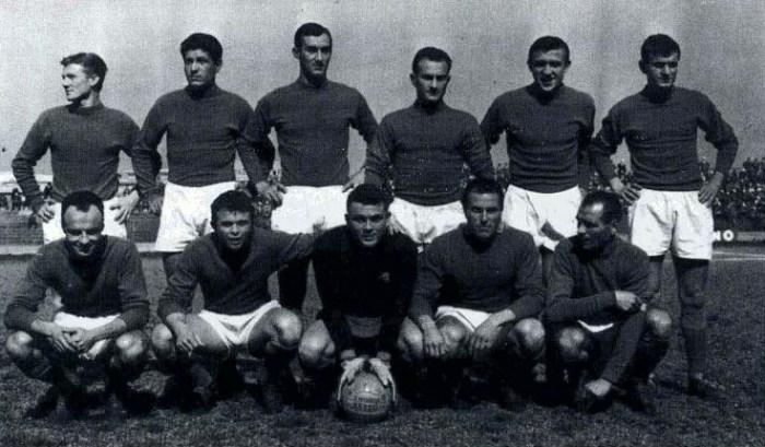 Quell'amichevole con la nazionale (1951-1959)