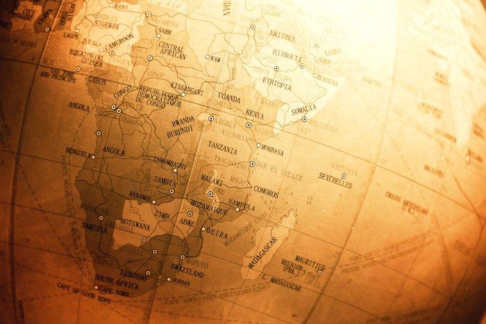 Mappa dell'Africa