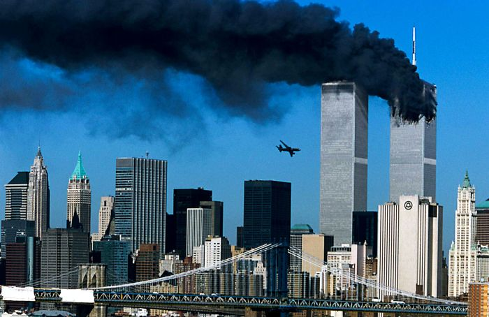 L'attentato dell'11 settembre 2001 alle Twin Towers di New York