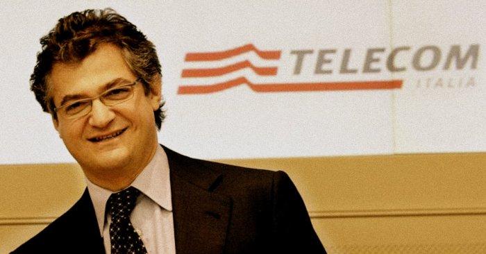 L'amministratore delegato di Telecom Italia Riccardo Ruggiero