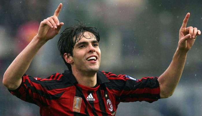 Il calciatore del Milan Kakà