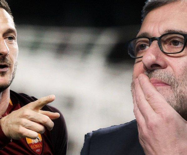 Francesco Totti e Roberto Giachetti