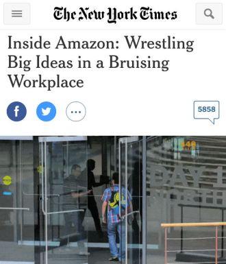 Il reportage del New York Times del 15 agosto 2015