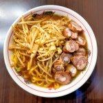 いの麺🍜12発目✨極太にんにく醤油ラーメン