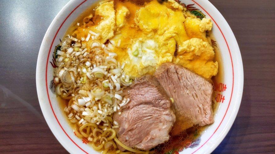 いの麺🍜17発目✨ふわ玉醤油らぁ麺