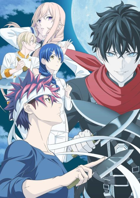 Food Wars! The Fifth Plate no regresará hasta julio - Ramen Para Dos