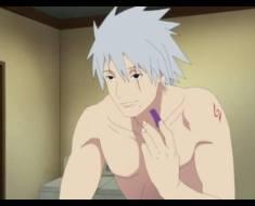 Kakashi without his mask on